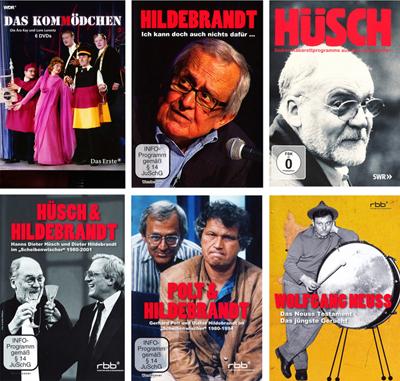 Kabarett-Klassiker Auf DVD Von Tackerfilm Jetzt Neu In Unserem Shop!